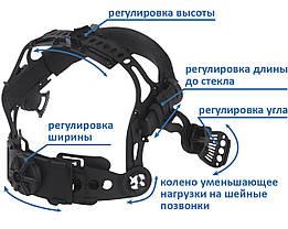 Сварочная маска хамелеон 3-A TrueColor (цвет металлические соты синие), фото 3