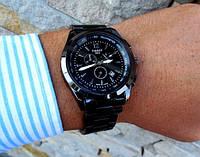 Мужские часы наручные часы TISSOT черный, магазин мужских часов