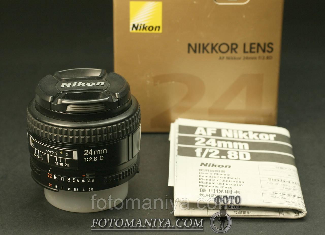 AF Nikkor 24mm f2,8D