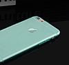 Силиконовый голубой чехол для Iphone 6 6S