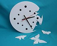 Часы настенные Бабочки white, фото 1