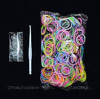 Волшебные резиночки Loom Bands, разные цвета, упаковка 200 шт.