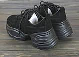 Женские кроссовки Lonza 50176 BLACK 38 24 см, фото 3