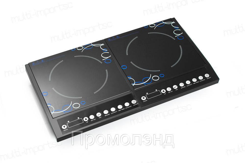 Плита індукційна подвійна INTEX 4000W