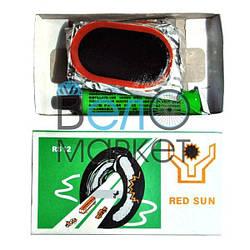 Аптечка Red Sun RS12 для ремонту вело камер і шин, клей , латки, ремкомплект