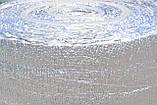 Полотно ППЕ 3 мм метализированое РЕТ (МРЕТ 9 мкм + ПЕ 10мкм) + липка прошарок 30 гр/м2, рулон 50 м. п., фото 4