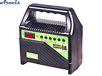 Зарядное устройство для автомобильного аккумулятора Pulso BC-15860 6-12V 6A