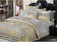 Комплект постельного белья Arya Элит жаккард с вышивкой Nicci Евро