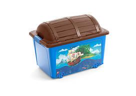 """Ящик для игрушек KIS """"Toy Box"""" 8086000 Синий"""