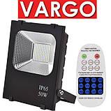 Прожектор LED на Сонячній Батареї VARGO 50W з Пультом і датчиками д IP65, фото 2