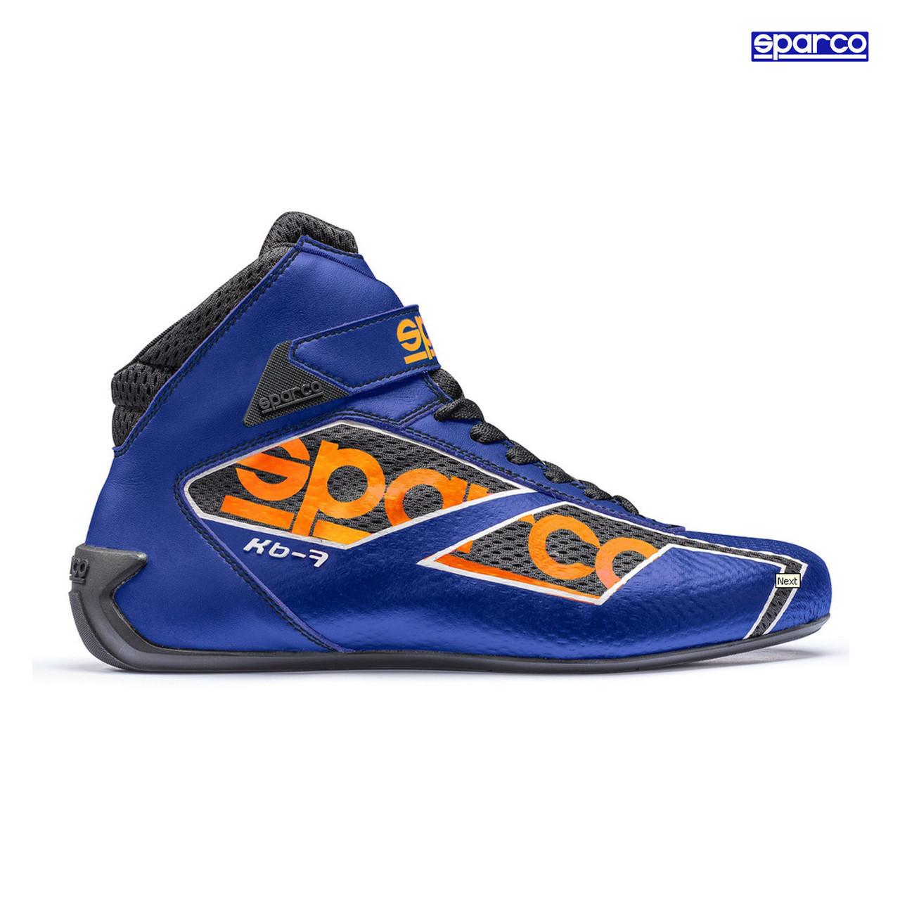 Обувь Кроссовки Sparco KB-7 2015 синие 43 размер