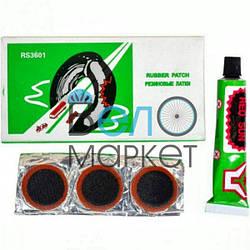 Аптечка Red Sun RS3601 для ремонту вело камер і шин, клей , латки, ремкомплект
