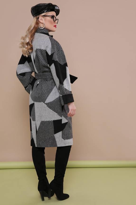 Модное женское весеннее шерстяное пальто, фото 2