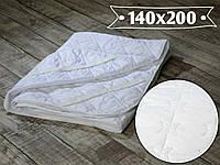 Наматрасник стеганый 140х200 см, микрофибра с резинками по 4-м углам