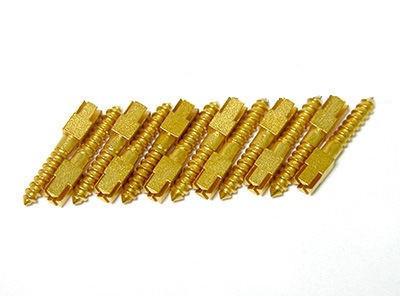 Анкерні штифти позолочені (12 шт/уп) M4