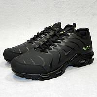 Кроссовки мужские Off-White for Nike Air Max TN Plus Black (в стиле Найк f7745c0b0905d
