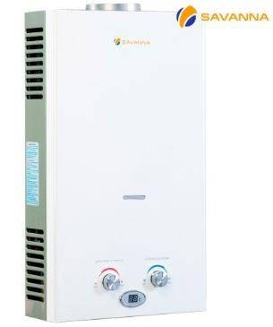 Колонка газовая Savanna 10л/мин белая, фото 2