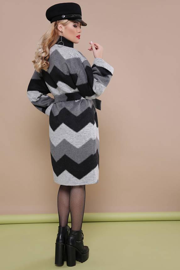 Красивое женское весеннее шерстяное пальто, фото 2