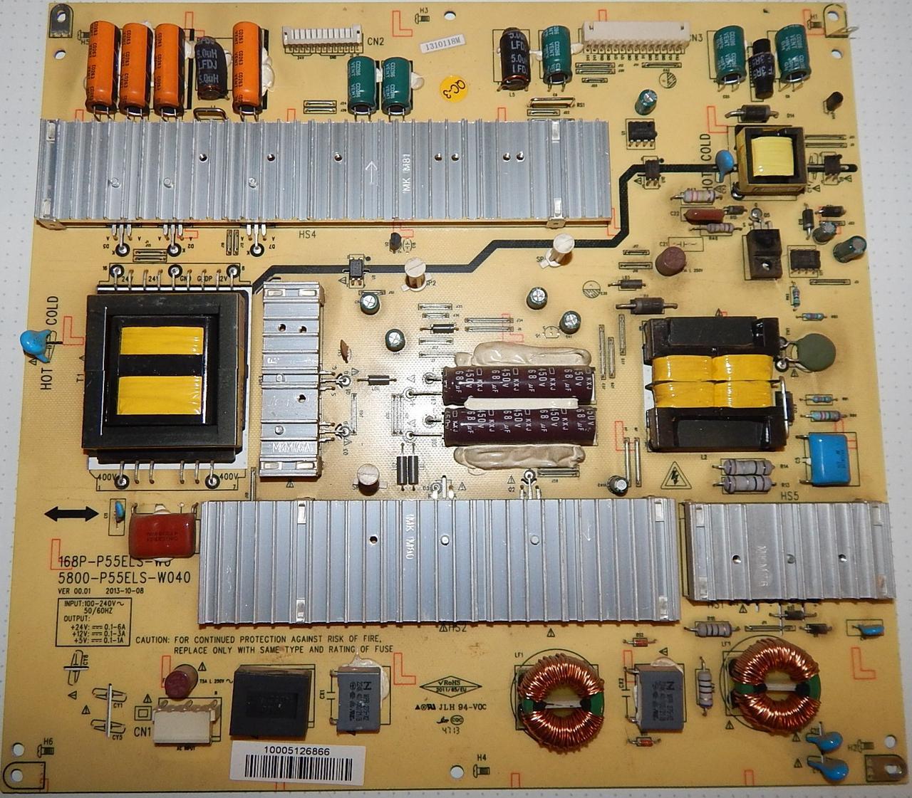 Блок питание 5800-P55ELS-W040 к телевизору Pioner piate pie 32fmn2