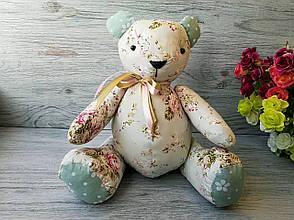 Мягкая игрушка мишка травяного цвета №5 ручная работа hand made, фото 2