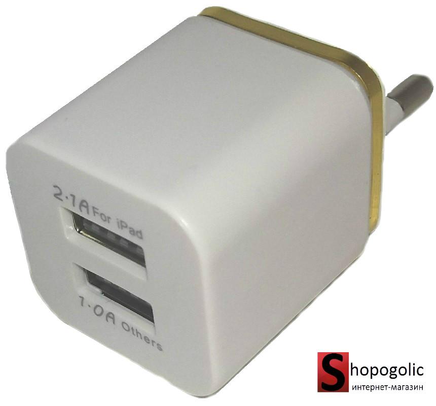 Зарядное Устройство Блок Питания на 2 USB
