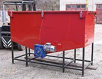 Бункер с механической подачей KALVIS-320М-950М (2,7куб. м.)