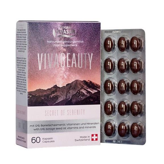 Капсулы антивозрастные Вива Бьюти  / Viva Beauty для женщин / мужчин (60 кап)