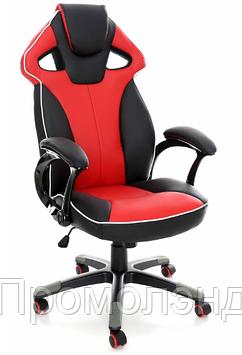 Кресло спортивное игровое Красно-черное