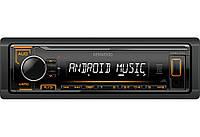 Магнітола Kenwood KMM 104 AY USB/AUX (без дисководу) оригінал