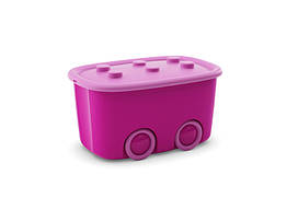 """Ящик для игрушек KIS """"Funny Box"""" 8630000 Розовый"""