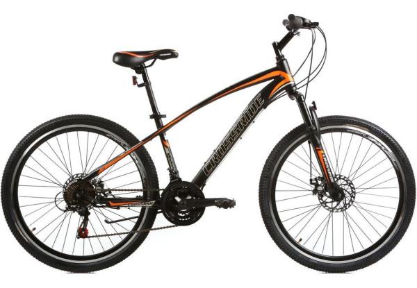 """Горный велосипед CROSSRIDE WESTSIDE 26""""  Черный/Оранжевый"""