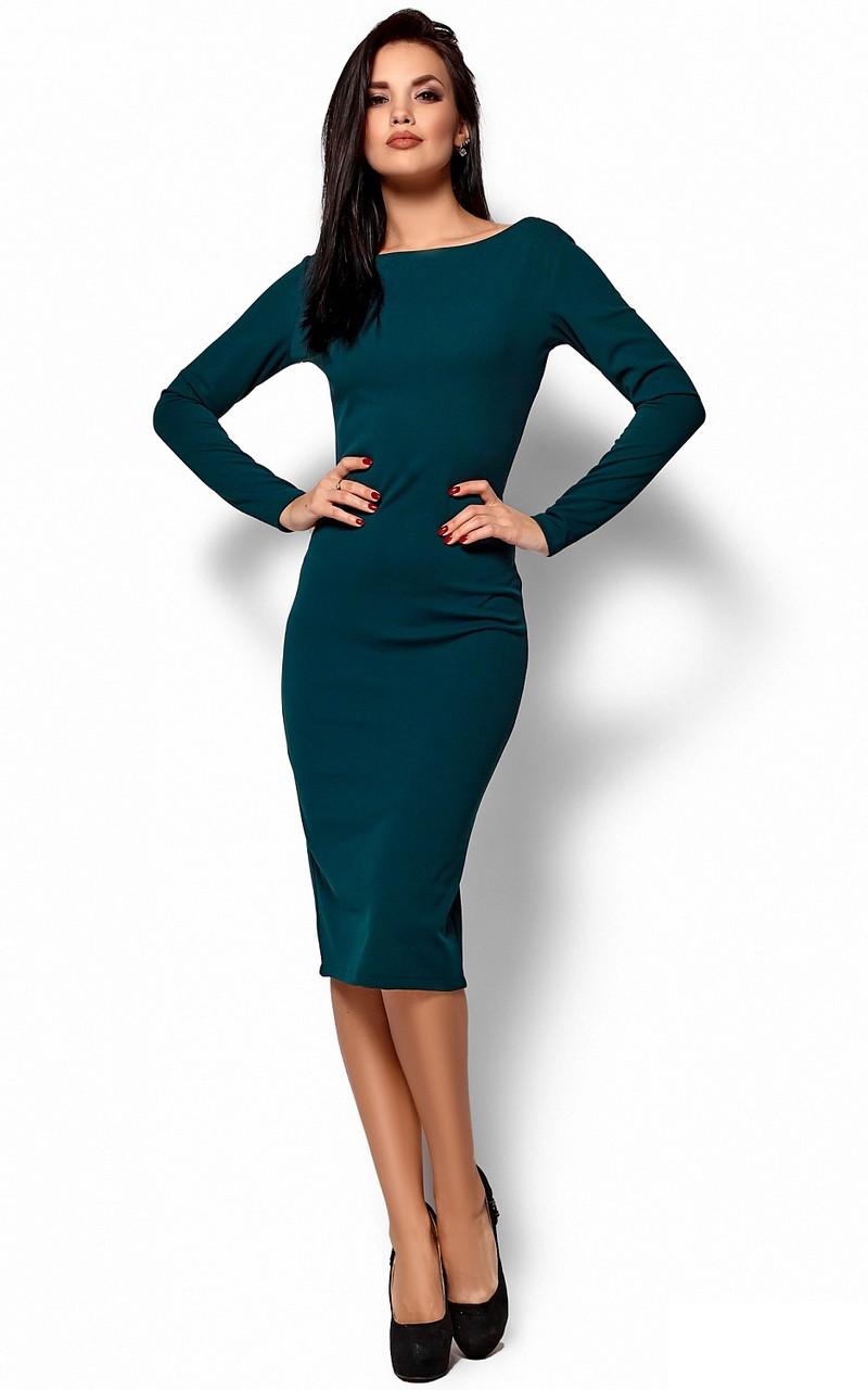 6d114fe32e95bb2 Платье KARREE Лола M Темно-зеленый KAR-PL00538, КОД: 305566 - Интернет