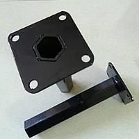Шестигранная полуось на мотоблок Ø 32 мм длина 250 мм
