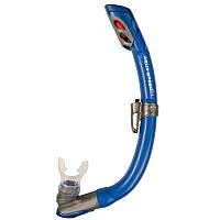 Детская трубка для плавания, ныряния, дайвинга, снорклинга Aqua Speed Bravo (original) система UltraDry