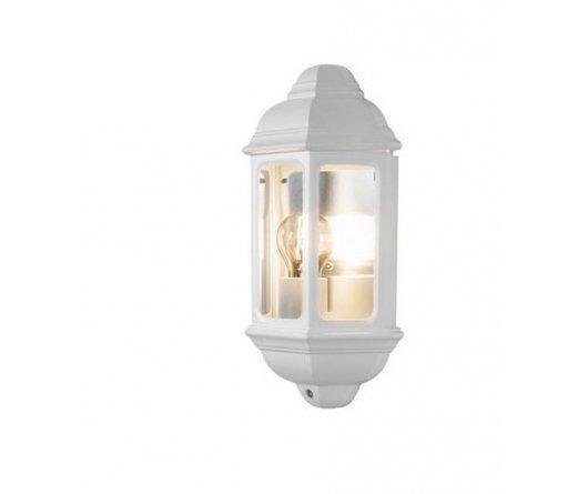 Настенный бра светильник IP44 алюминий белый