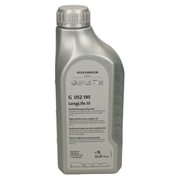 Масло моторное VAG 5W-30 G 052195M4 1л
