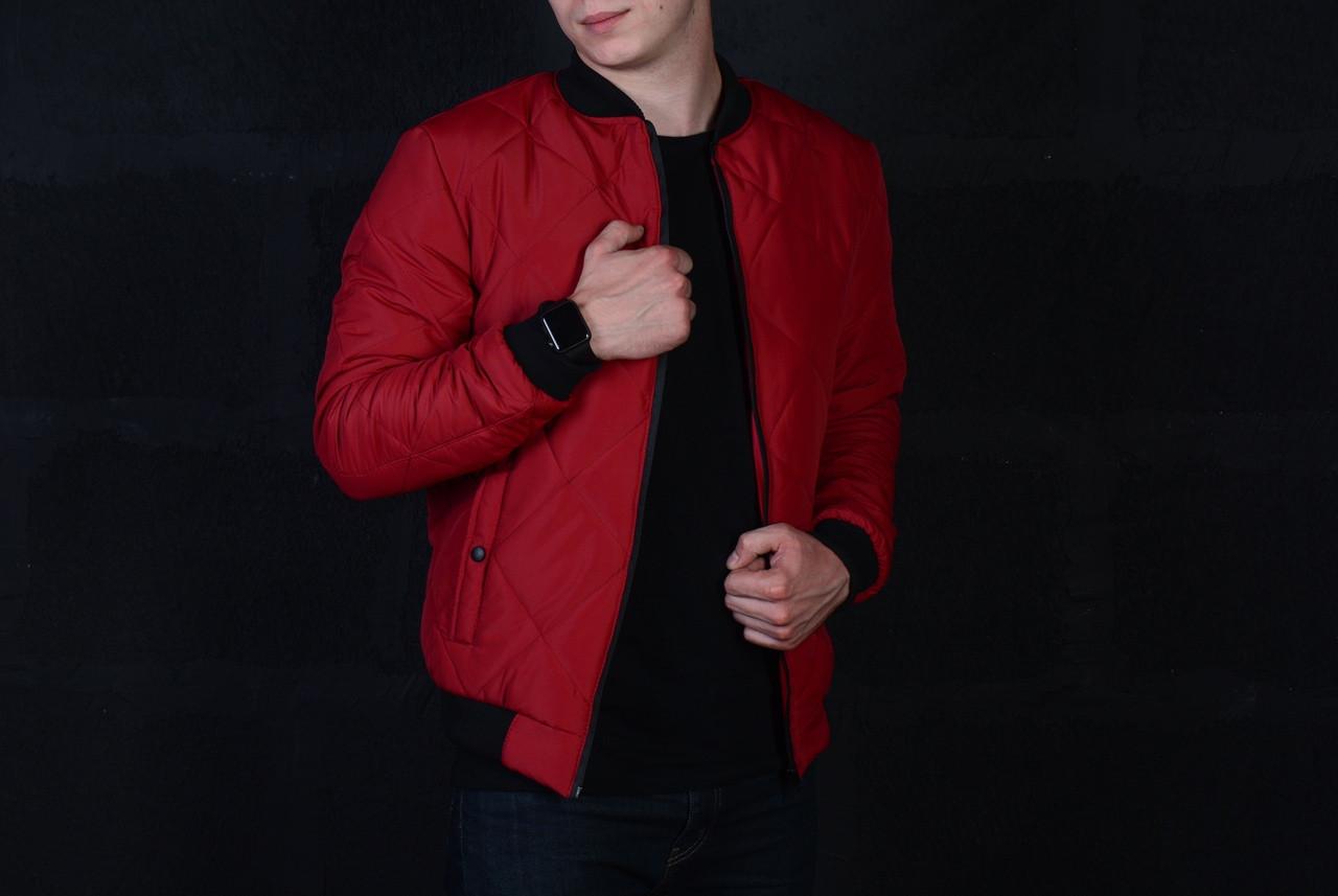 Куртка мужская красная. Куртка чоловіча. ТОП КАЧЕСТВО!!!