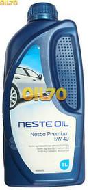 Масло моторное NESTE Premium+ 5W-40  1 л