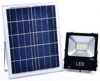 Уличный LED светильник на солнечных батареях SX - 20W  з пультом