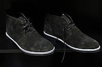 Лот 3 пары классической обуви оптом, туфли броги, дезерты, натуральная замша, оригинал.