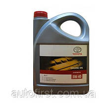 TOYOTA Масло 5W40 Motor Oil (5L)