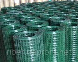 Сетка сварная в полимере 25х25х2,0мм 1/30м