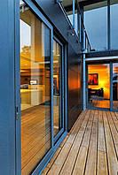 Двері патіо розсувні металопластикові ПВХ і алюмінієві