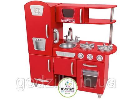 Детская кухня KidKraft Red Vintage