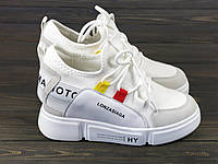 Женские кроссовки Lonza FLM81812 WHITE 36 23 см, фото 1