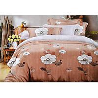 Двуспальное постельное белье из Сатина - Олеандр