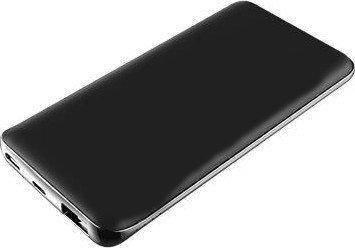 Зовнішній акумулятор Power Bank 2E 10000mAh QC3.0 Black Soft Touch Гарантія 12 місяців, фото 2