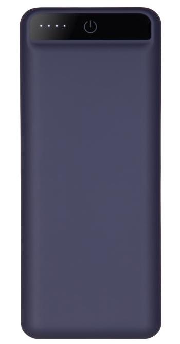УМБ Power Bank 2E 20000mAh Dark Blue Soft Touch Гарантия 12 месяцев