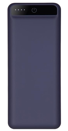 УМБ Power Bank 2E 20000mAh Dark Blue Soft Touch Гарантия 12 месяцев, фото 2