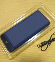 УМБ Power Bank 2E 20000mAh Dark Blue Soft Touch Гарантия 12 месяцев, фото 3